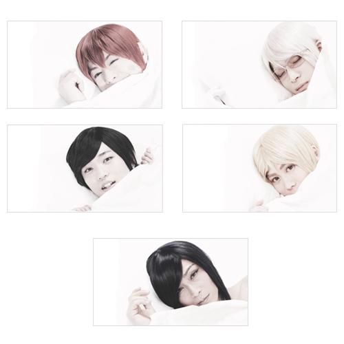 【アルスマグナ】FC限定「全メンバー」枕カバー 5枚組1セット(各1メンバー1枚)