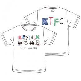 KT CREW Tシャツ(ホワイト)