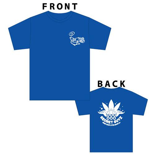 [SECRET GUYZ]2016サマーTシャツ(青)