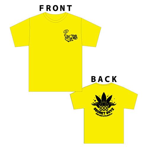 [SECRET GUYZ]2016サマーTシャツ(黄)
