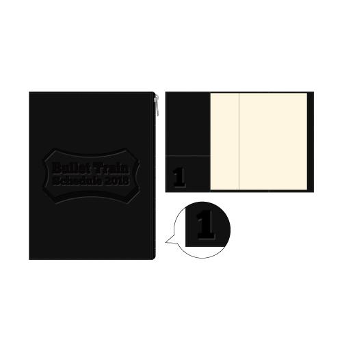【FC会員通販限定】[超特急]BULLET TRAIN 2018 ScheduleBook (黒)