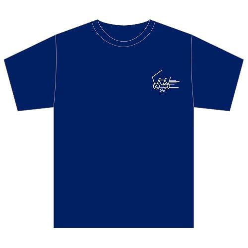 [PrizmaX]LEVEL3 Tシャツ(紺)