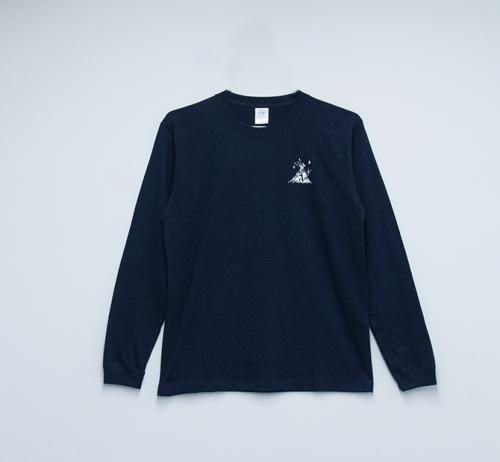 Long Sleeve T shirt・Hikari 【Navy】