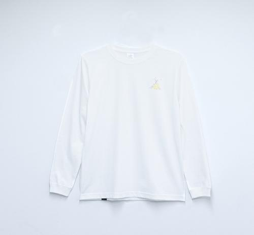 Long Sleeve T shirt・Hikari 【White】