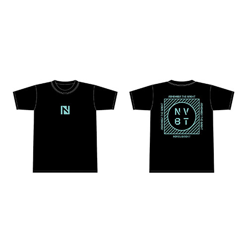 Tシャツ ブラック【REMEMBER THE BRIGHT TOUR】