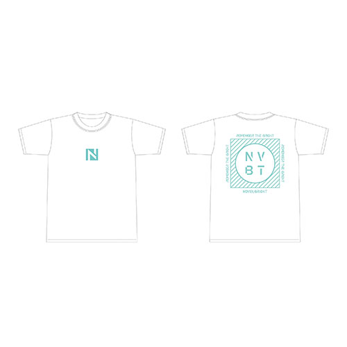 Tシャツ ホワイト【REMEMBER THE BRIGHT TOUR】