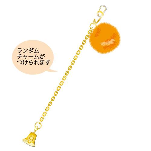 [M!LK]白黒牛乳ワールド バックチャーム【橙】