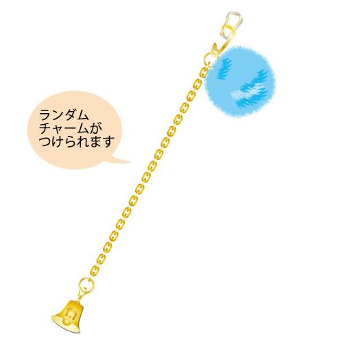 [M!LK]白黒牛乳ワールド バックチャーム【青】