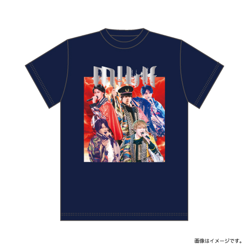 [M!LK]SWEET CHRISTMAS BAND風!?Tシャツ Produce by SHUNTA