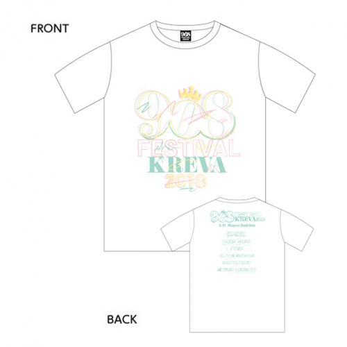 908 Tシャツ/ホワイト