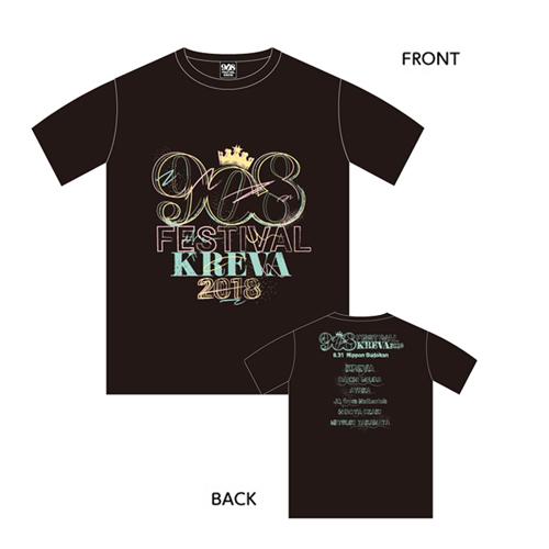 908 Tシャツ/ブラック