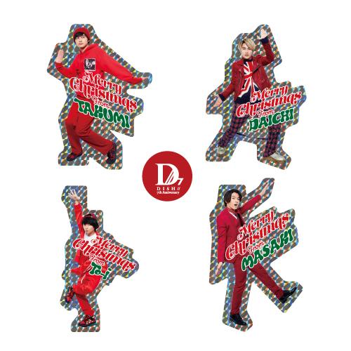 [DISH//]【FC会員限定】Merry X'mas Sticker Set