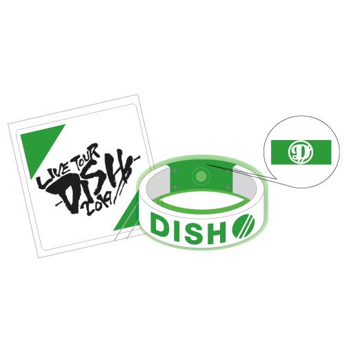 [DISH//]LIVE TOUR DISH//  Light Bangle(green)