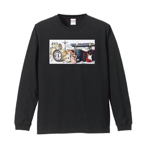 [DISH//]LIVE TOUR DISH//  Long sleeve Tour T-shirt【black】