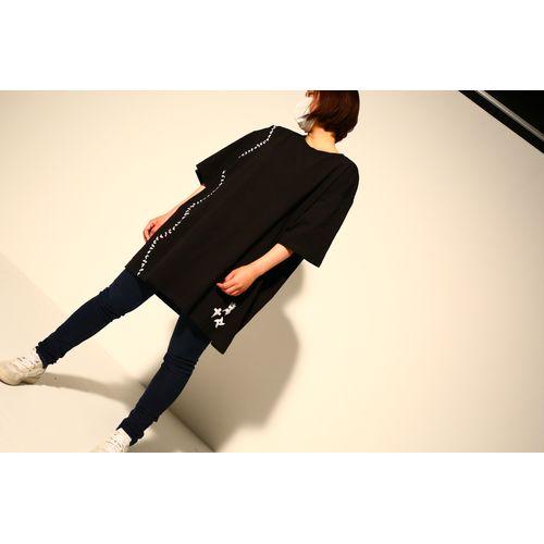 【-真天地開闢集団-ジグザグ】参拝装束<定番> (Tシャツ)【黒】
