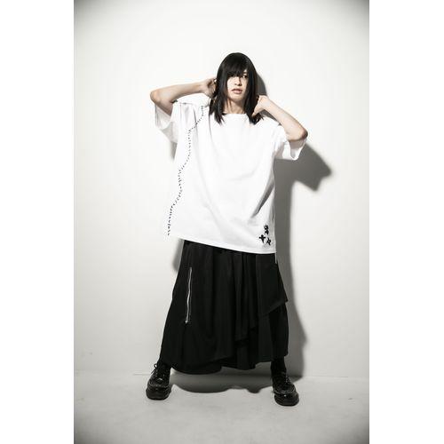 【-真天地開闢集団-ジグザグ】参拝装束<定番> (Tシャツ)【白】