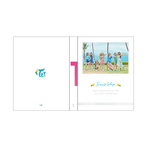 "TWICE POPUP STORE ""Twaii's Shop"" トレカケース"