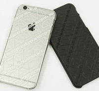 iPhone Case #5 【Clear×White】