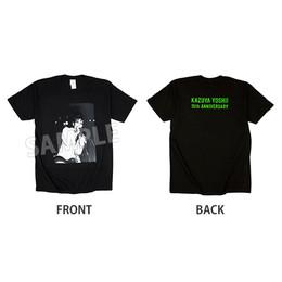 【通販限定カラー Black×Green】Young Yoshii Kazuya PHOTO Tシャツ(会員制ライブ 大阪ver.)