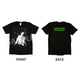 【通販限定カラー Black×Green】Young Yoshii Kazuya PHOTO Tシャツ(会員制ライブ 東京ver.)