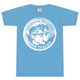 """SOUL POWER presents """"シルクの似合う夜 part5""""メダルTシャツ(ブルー)"""