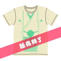 伽羅古袴Tシャツ【クリーム×グリーン】