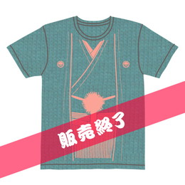 伽羅古袴Tシャツ【モスグリーン×サーモンピンク】