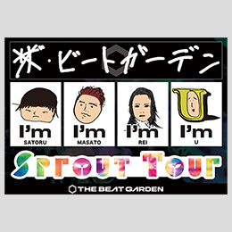 Sprout Tour ステッカーシート