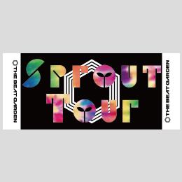 Sprout Tourロゴ フェイスタオル