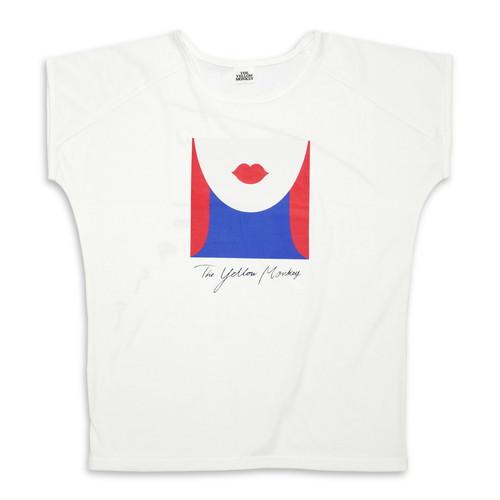 ロザーナ BIG Tシャツ/クリーム