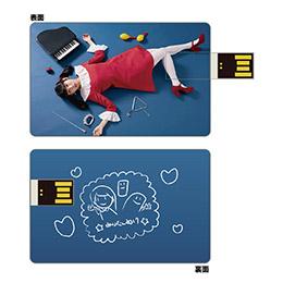 【古川未鈴生誕イベント2017】カード型USBメモリー