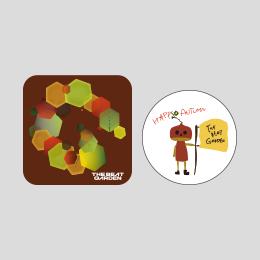 THE BEAT GARDEN 缶バッジ -Autumn ver.-