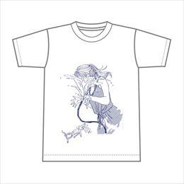 流水少女Tシャツ【ホワイト】