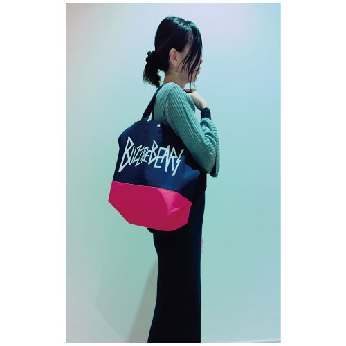 Official Tote Bag/Navy×Red