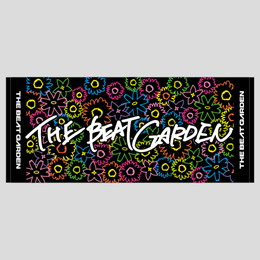 THE BEAT GARDEN Official タオル/ブラック