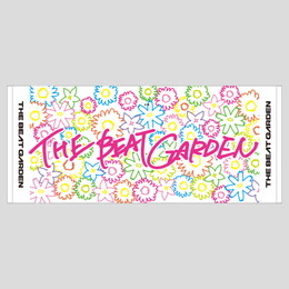 THE BEAT GARDEN Official タオル/ホワイト