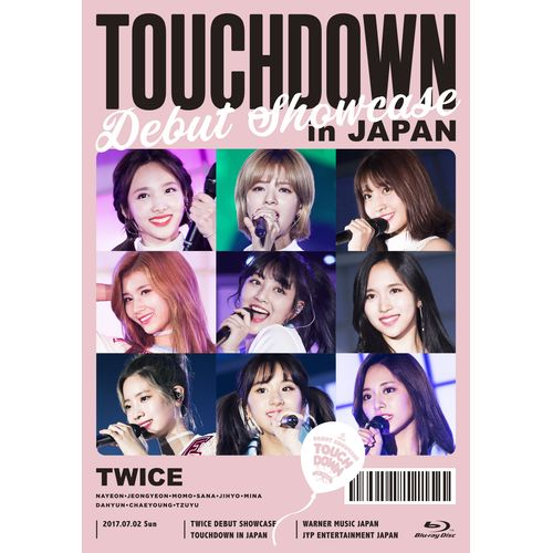 "TWICE DEBUT SHOWCASE ""Touchdown in JAPAN"" 《ONCE JAPAN限定盤 Blu-ray》"