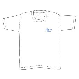 曲名刺繍Tシャツ・2016年1位「a picture book」/ホワイト