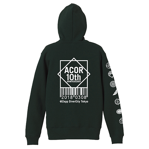 acor 10th Anniversary 限定パーカー