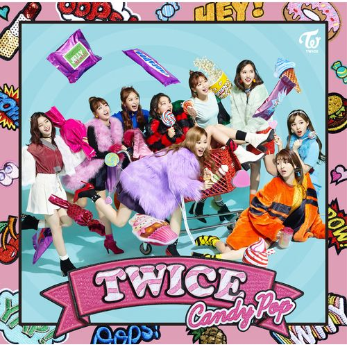 TWICE JAPAN 2nd SINGLE「Candy Pop」 《ONCE JAPAN限定盤》