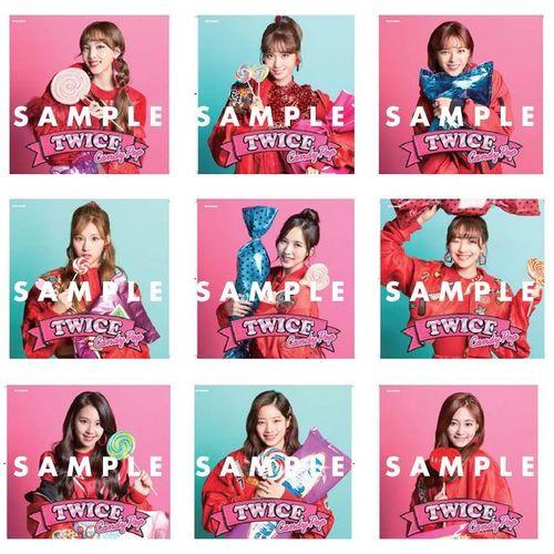 TWICE JAPAN 2nd SINGLE「Candy Pop」 《ONCE JAPAN限定盤》