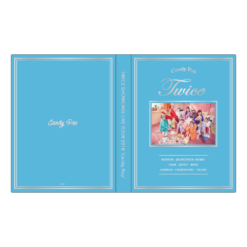 "TWICE SHOWCASE LIVE TOUR 2018 ""Candy Pop"" トレカケース 《ONCE JAPAN 限定カラー》"