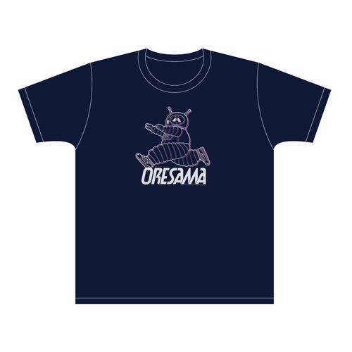 【ORESAMA】オバケTシャツ(ネイビー)