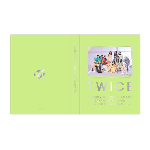 TWICE JAPAN 2nd SINGLE「Candy Pop」RELEASE EVENT OFFICIAL GOODS トレカケース 《ONCE JAPAN 限定カラー》