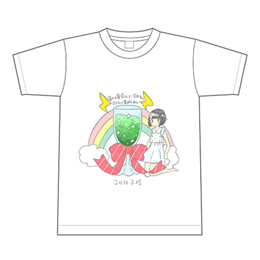 【根本凪生誕2018】描き下ろし生誕Tシャツ L
