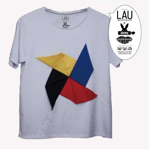【阿部真央】LAU(ラウ)×ABEMA コラボTシャツセット