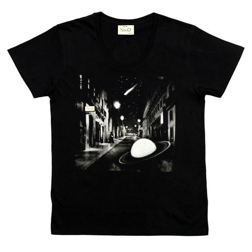 No.0 UネックTシャツ