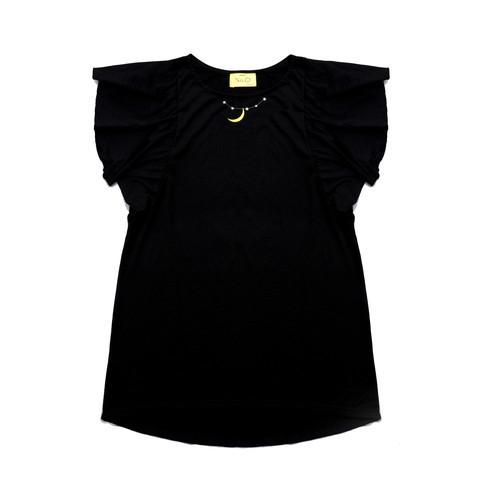 ドルマンロングワンピースTシャツ