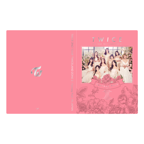 TWICE 2ND TOUR 'TWICELAND ZONE 2 : Fantasy Park' IN JAPAN トレカケース 《ONCE JAPAN 限定カラー》