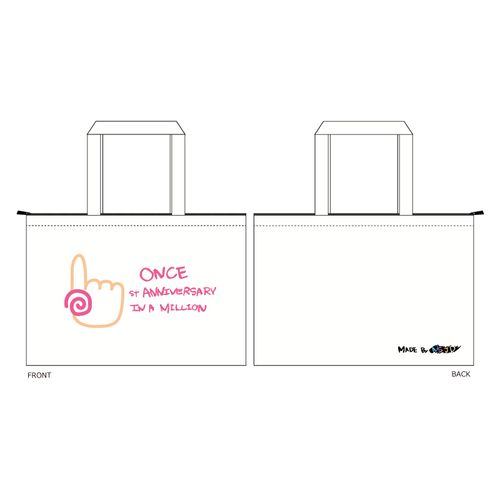 TWICE JAPAN DEBUT 1st Anniversary Goods 「トートバック」